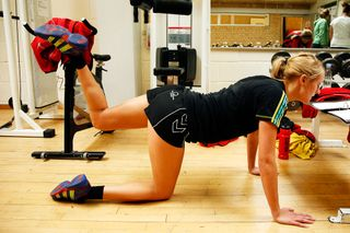 Baller, quadruped hip extension